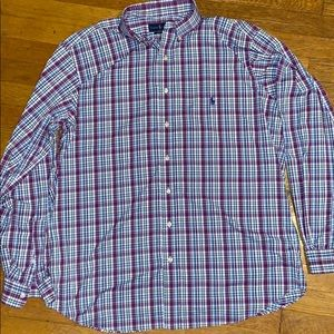 Ralph Lauren Performance Button Down Size …